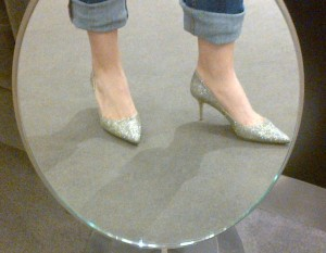 My dream pair of Jimmy Choos...if only they weren't $600 YIKES!